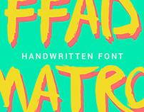 Free font: FFAD Matro