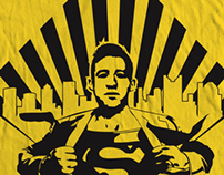 Steve Clark Superman Tifo