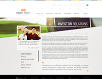 Oberoi Realty - Website UI UX