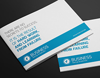 Clean Business A5 Brochure