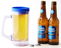 BeerNStein™ 24oz Insulated Plastic Beer Stein with Lid