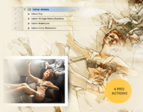Vative Art Actions - Artistic Photoshop Actions