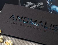 Anomalis, Ridley Scott Film Festival
