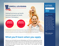 Enroll Louisiana Website