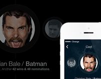 Concept Work - iOS7 Application