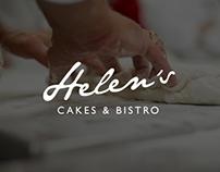 Helen's cake & bistro brochure