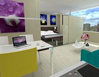 INTERIOR DESIGN: URAKU Hotel Bogota - Colombia