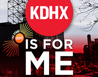 KDHX Spring Pledge Drive Materials