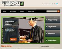 Pierpont Foundation Website