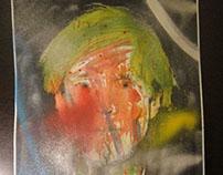 ORIGINAL Spray paint/Acrilyc - 2014