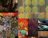Silk/Tussar shawls- Prints