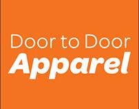 Door to Door Apparel - Website