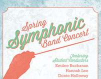 Spring Symphonic Band Concert