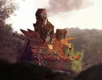"""  a gnomes home"""