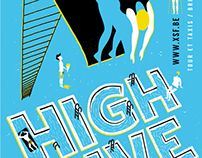 High Dive Poster