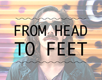 FROM HEAD TO FEET
