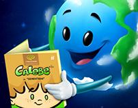 Dia da Terra com o livro Calebe (earth day)