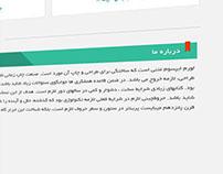 software website UI