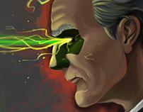 Fantasy art character illustration // Killer Priest