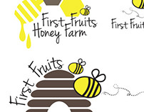 First Fruits Honey Farm Logo