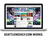 Seattle Weekly Web Ads - Various