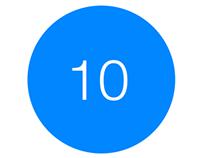 10 iOS App