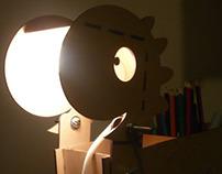 Bonisaurio: lámpara de sobremesa