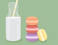 Macaroons & Milk