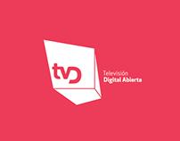 Logotipo para Televisión Nacional Digital