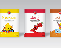 Western Family Packaging Design and Illustration