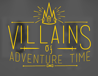 Villains of adventure time