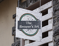 The Brewer's Art Bar/Restaurant Logo Redesign