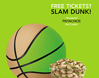 Wonderful Pistachios: Harlem Globetrotters Social Media