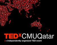 TEDxCMUQatar - Branding