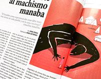 Ilustración editorial 2017 Revista Mundo Diners