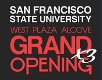 SFSU West Alcove Grand Opening