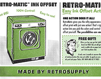 Retro-Matic - Easy Ink Offset Action
