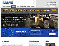 Сайт компании BELAZ-EUROPA GmbH