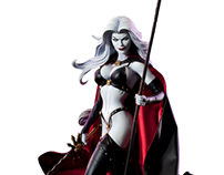 Lady Death Premium Format Figure Design