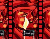 Illustration | Cricket Lighters
