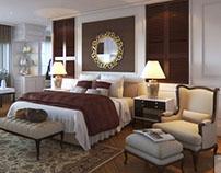 jakarta, master bedroom