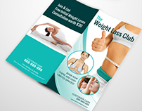 Multipurpose Bi-fold DL Flyer