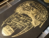 STWO Poster Screenprinting