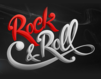 Typography | Rock'n Roll