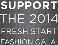 Fresh Start Fashion Gala Sponsorship ad