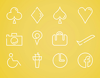 Miscellaneous travel icons #1