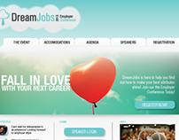 Dream Jobs Event Registration Site