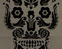Folklore skull