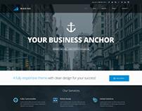Marine Theme - Homepage v.3