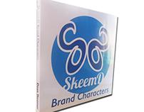 SKEEMD Brand Characters Book